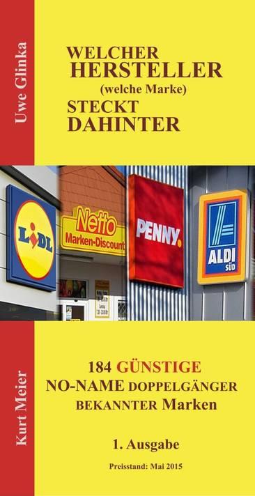 Broschuere Hersteller hinter No Name Marken